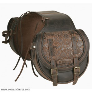 Rear medium  saddle bag Comancheros for Horse Trekking