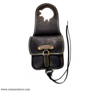 Pommel bag for western saddles