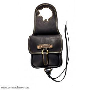 Pommel bag for western saddles