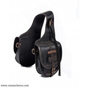 Rear trekking saddlebags