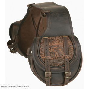 Rear small saddle bag Comancheros for Horse Trekking