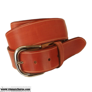 Red leather belt Ct06