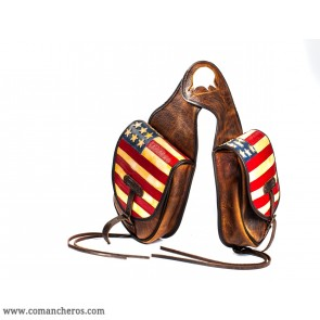 Saddlebags Western America style