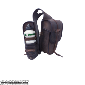 Saddlebags with Water Bottle