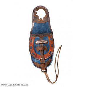 Single Saddlebag in Jeans