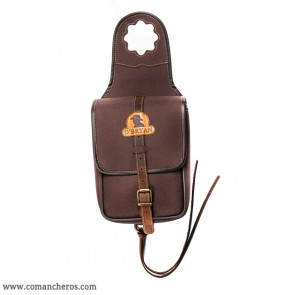 Square pommel bag