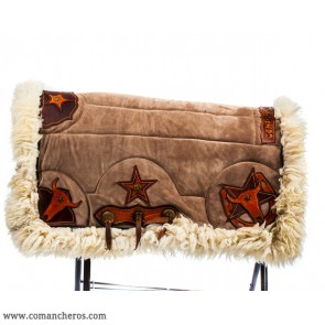 Suede Saddle Pad for Horse