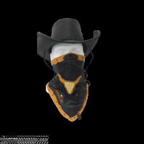 Texas Leather Bandana