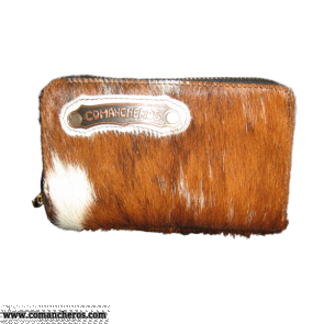 Wallet in Calf Hair