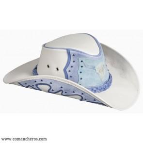 Western Hat Blue Buffalo