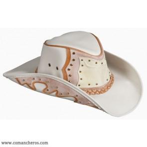 Western Hat Orange Longhorn