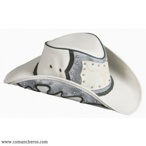 Western Hat with Buffalo